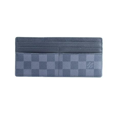 Damier Graphite (Damier Graphite Long Card Holder 18lr0307 Black Coated Canvas Clutch )