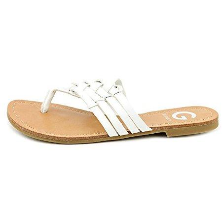 036c4cee7f6 G BY GUESS - G By Guess Women s Loann Thong Sandals - Walmart.com