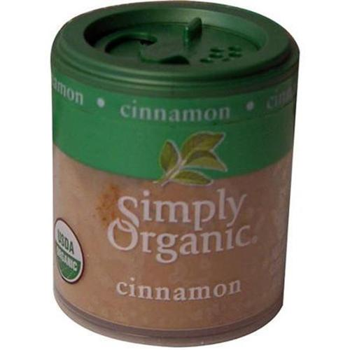 Simply Organic 25476 Mini Organic Ground Cinnamon