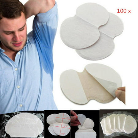 100pcs / 50Pair Absorb Sweat Armpits Disposable Perspiration Pads Deodorant,Perspiration Pads,Underarm Sweat (The Best Deodorant For Sweaty Armpits)