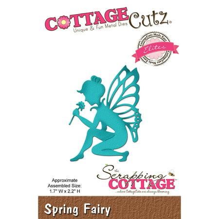 CottageCutz Elites Die-Spring Fairy, 1.7
