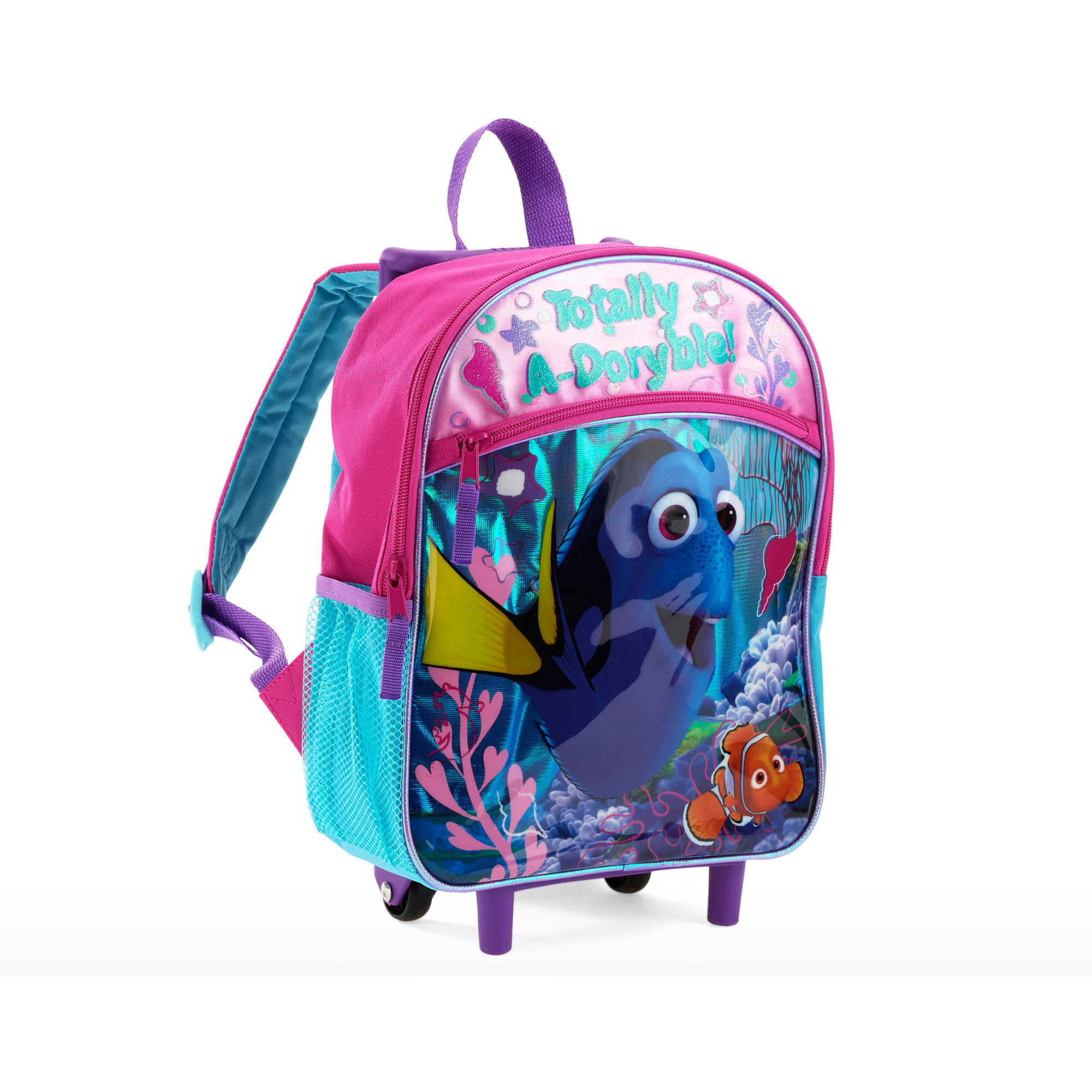 Finding Dory 12 Inch Rolling Backpack - Walmart.com