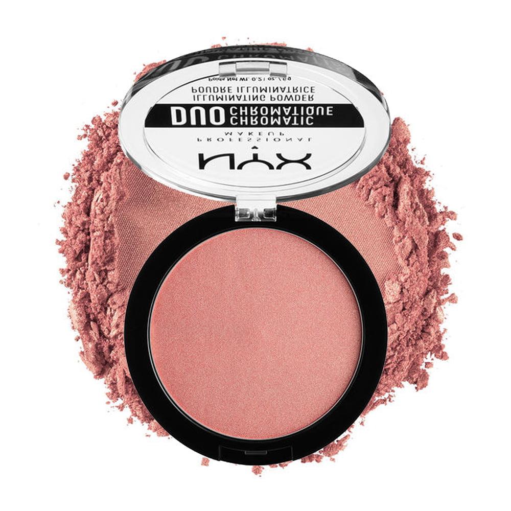 (6 Pack) NYX Duo Chromatic Illuminating Powder - Crushed Bloom