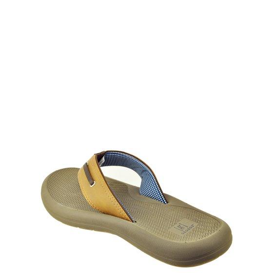 b10e8b74440 GEORGE - Mens George Rope Flip Flop Sandal - Walmart.com