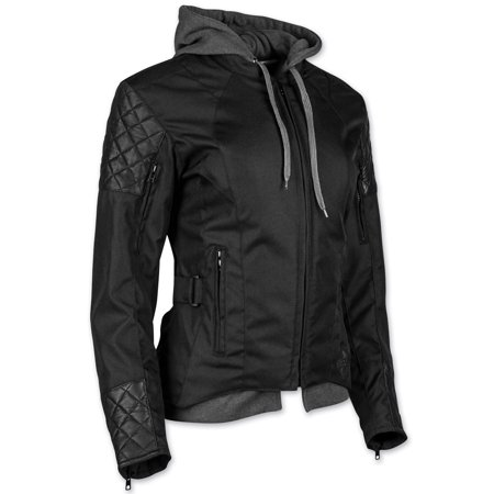 Speed and Strength Women's  Women's Double Take Textile/Leather Jacket