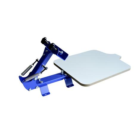 Techtongda 1 Color Screen Printing Press Kit Machine 1 Station Silk Screening Pressing DIY…](Silk Screening Kit)