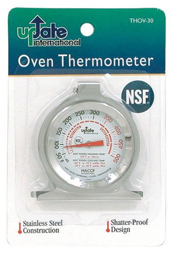 "(THOV-30) 3"" Oven Thermometer, Oven thermometers By Update International Ship from US by"