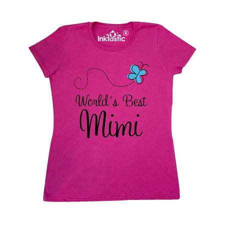 Worlds Best Mimi butterfly Women's T-Shirt