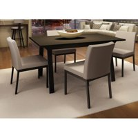 Amisco Drift Perry 5 Piece Dining Table Set