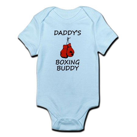 8aa083711cf CafePress - CafePress - Daddys Boxing Buddy Body Suit - Baby Light Bodysuit  - Walmart.com