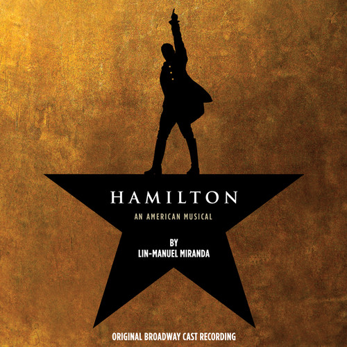 Hamilton An American Musical Soundtrack (Original Broadway Cast Recording)(Explicit)(2CD)