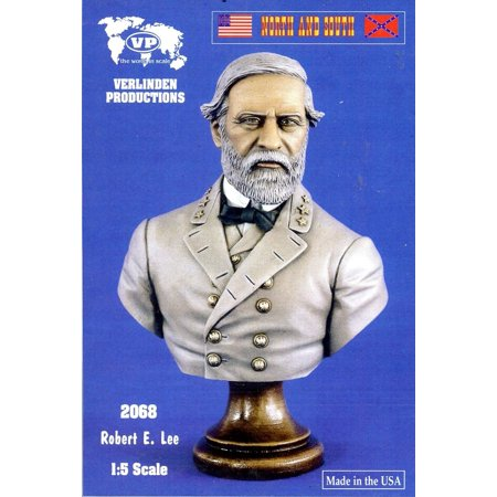 Verlinden 1 5 North And South Robert E  Lee Resin Bust Kit  2068