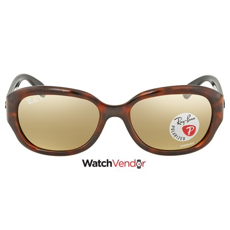 4fd909b841 Ray Ban Polarized Brown Mirror Chromance Sunglasses RB4282CH 6281A2 55 -  image 1 of 3 ...