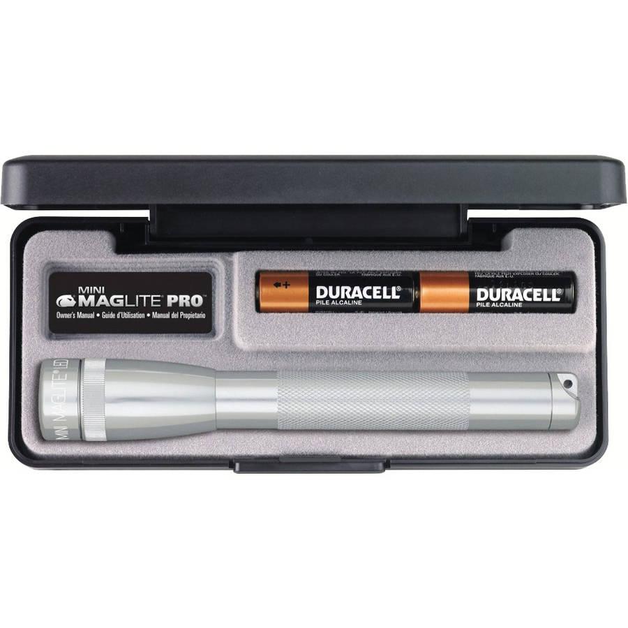 Maglite Mini Mag Led Pro Silver, Presentation Box