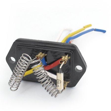 Vehicle Car Evaporator Heater Blower Motor 4 Wired Ceramic Resistor DC 24V - image 2 de 2