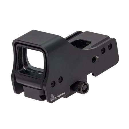 Leapers  Inc    Utg Single Dot Reflex Sight  Red Green Dual Color Illumination  Includes Picatinny Mount Deck  Black Fin