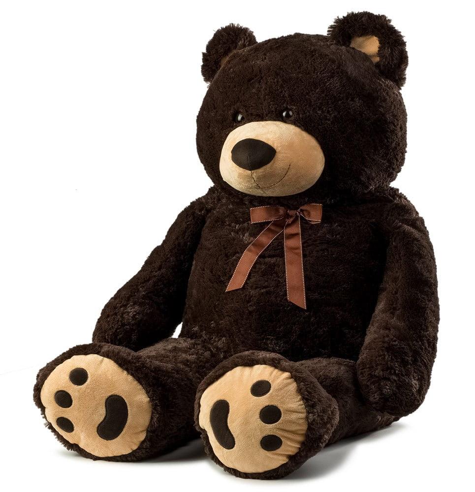 JOON Jumbo Teddy Bear, 5 Feet Tall, Dark Brown by Joon