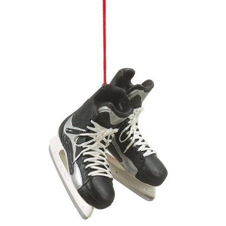 Christmas/ Everyday Ornament- 2.5 Inch Hockey Skates (Hang or Stand Up!)