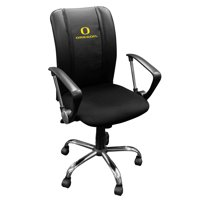 University of Oregon Ducks Curve Task Chair with Primary logo