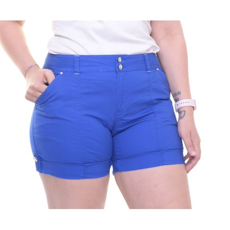 INC International Concepts Cuffed Curvy-Fit Shorts Size
