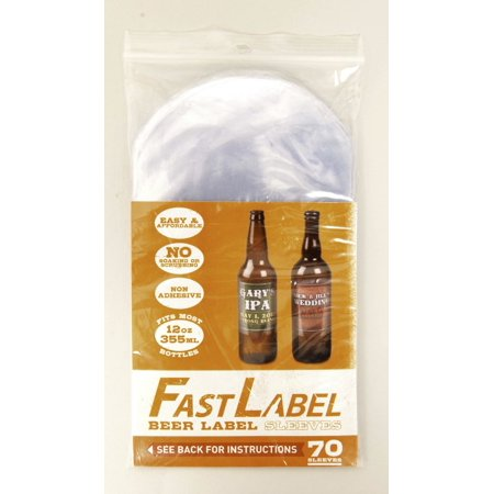 FastLabel Beer Label Sleeves 12oz (330-355ml)](Beer Labels)