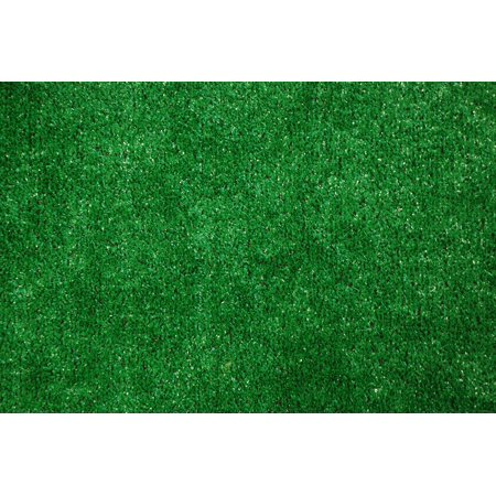 Indoor/Outdoor Green Artificial Grass Turf Area Rug 9