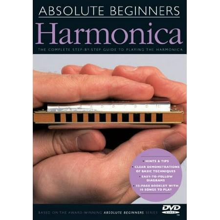 Absolute Beginners: Absolute Beginners Harmonica (DVD)