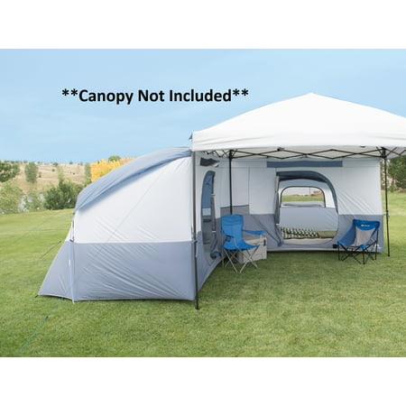 Ozark Trail 8-Person L-Shaped ConnecTent Accessory for Straight-Leg Canopy
