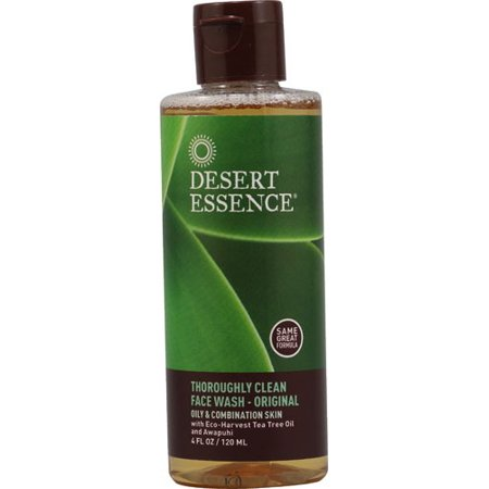 Facial Wash Trial Size Desert Essence 4 Oz Liquid