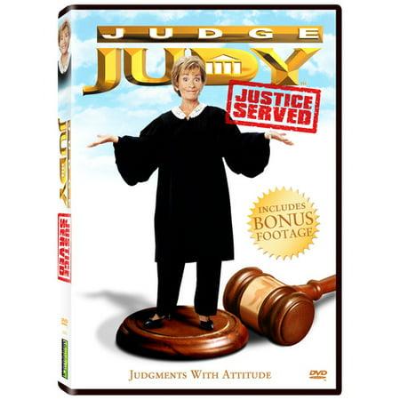 Judge Judy: Justice Served (Judge Judy Handyman Shows Off Gunshot Wounds)