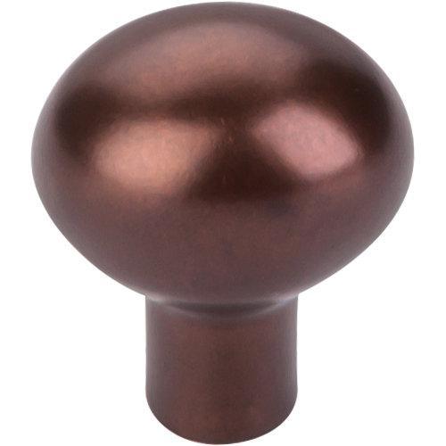 Top Knobs M1528 Aspen Collection 1-3/16 Inch Mahogany Bronze Small Egg Knob