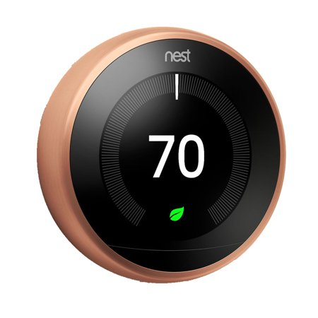Nest 3rd Generation Learning Thermostat - Copper