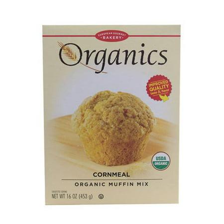 - European Gourmet Bakery Organic Muffin Mix Cornmeal 16 oz