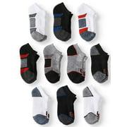 Locker Room Boys Socks, 10pk No Show Athletic