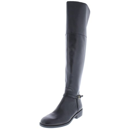 Cole Haan Womens Valentia Leather Riding Over-The-Knee Boots