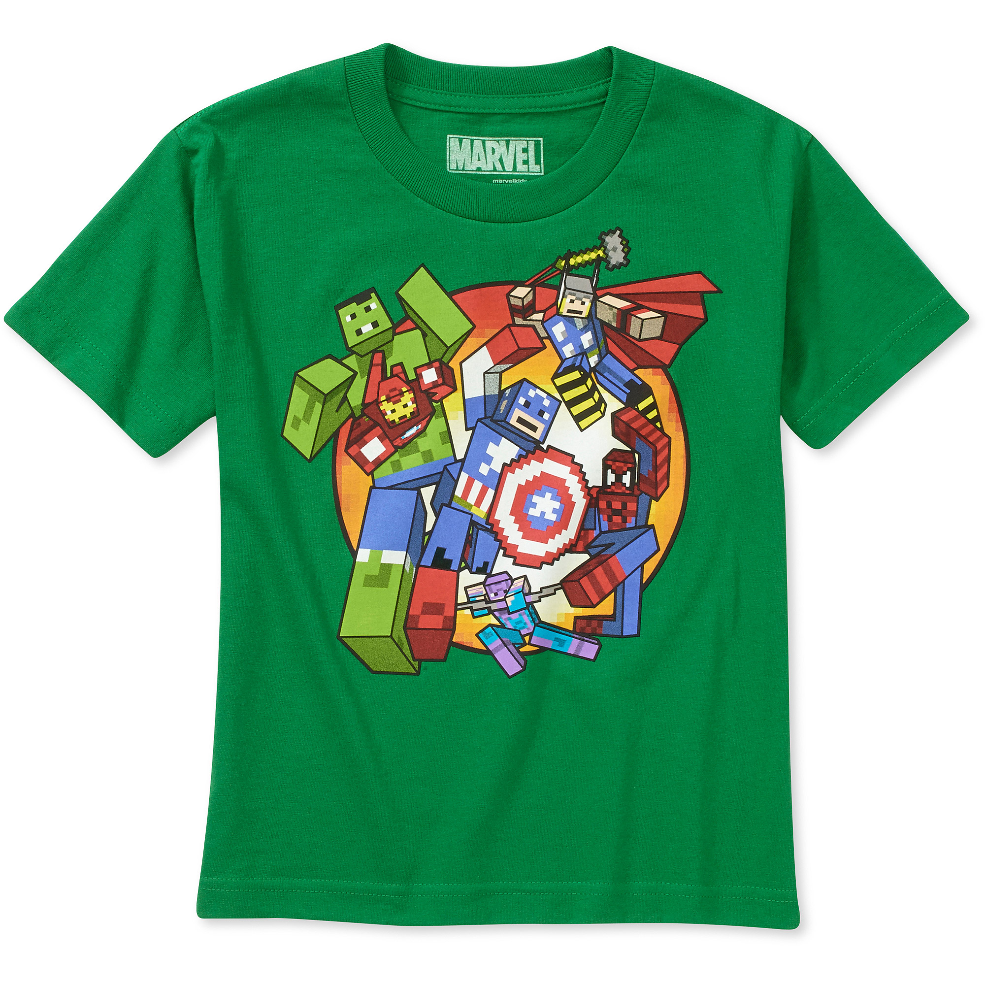 Marvel Captain America Group Boys' Graphic Tee