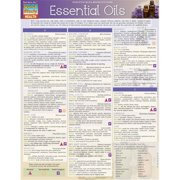BarCharts 9781423225898 Essential Oils Quickstudy Easel