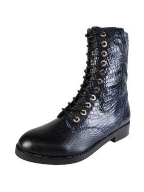 560d5985047 Product Image Jeffrey Campbell Womens Crusade Lace Up Zip Ankle Boot Shoe