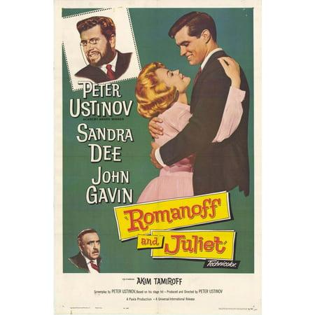 Romanoff and Juliet POSTER Movie (27x40) (Natasha Romanoff Halloween)