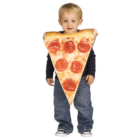 Bread Slice Costume (Toddler Lil Pizza Slice Halloween Costume size)