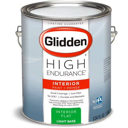 High Endurance Light Base Flat Interior Paint 1 Gallon