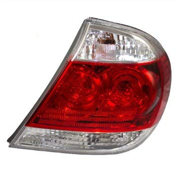 Tail Light - Cooling Direct Fit/For TO2801155 05-06 Toy Camry-Le/Xle Usa-Built Tail Lamp Assembly Rh W/Clear Lens