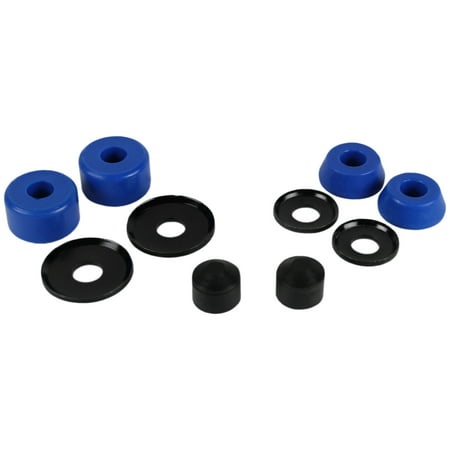 Skateboard Truck Rebuild Kit SOFT 88A Bushings Washers Pivot Cups For 2 (Skate Bushings)