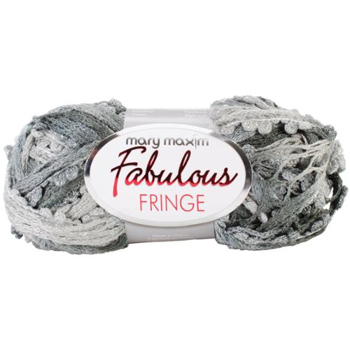 Fabulous Fringe Yarn-Greys Galore