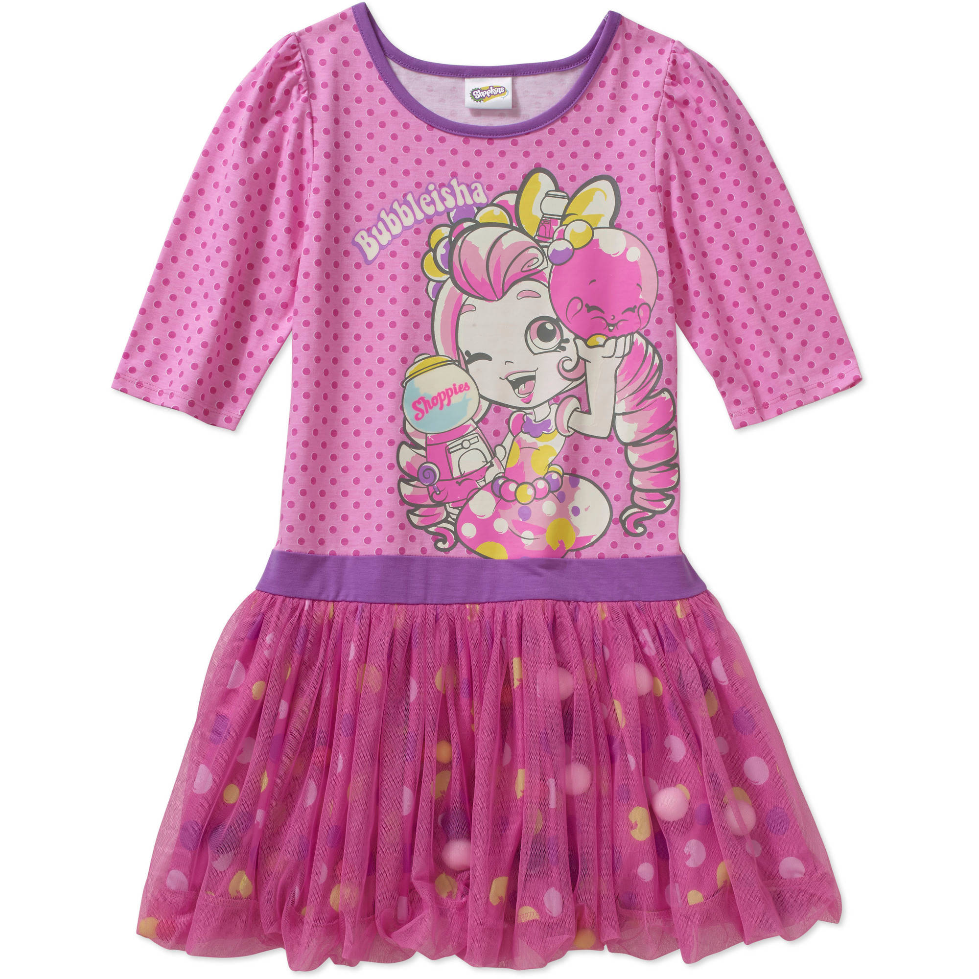 Shoppies Girls Bubblisha Dress Walmart