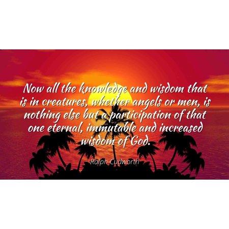 Ralph cudworth quotes
