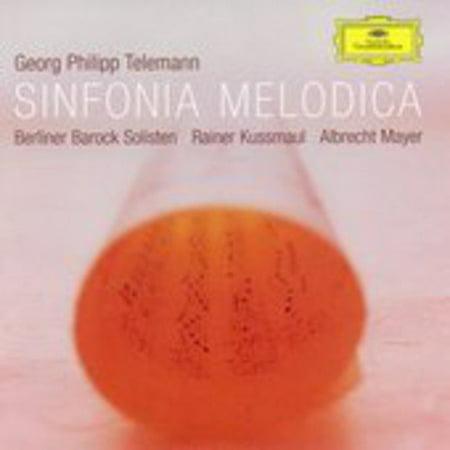 G.P. Telemann - Telemann: Sinfonia Melodica [CD]