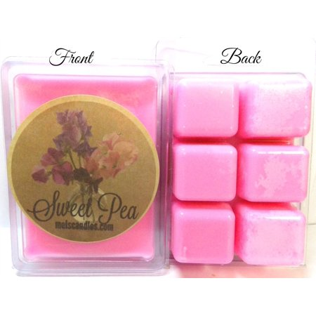 Sweet Pea 3.2oz Pack of Soy wax tarts, Scent Cubes, Wax Melts