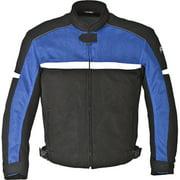 Men's Fulmer Firetrak II Jacket Motorcycle Riding Coat Textile/Mesh w/ CE Armor