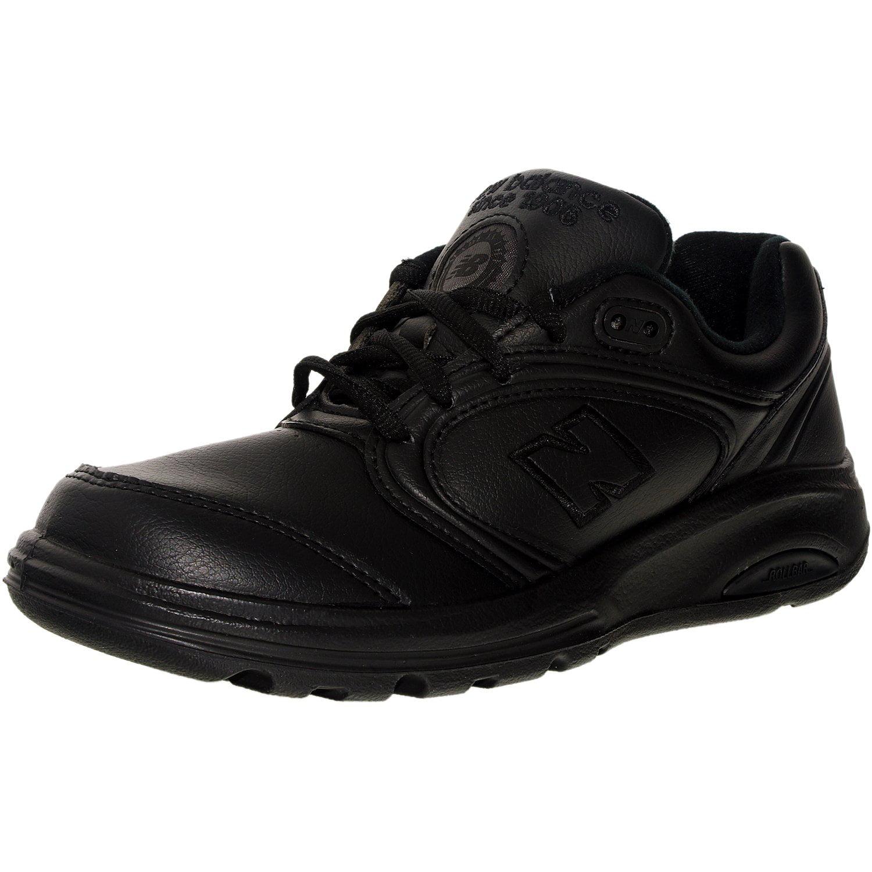 New Balance Women's Ww812Bk Black Ankle-High Leather Walk...
